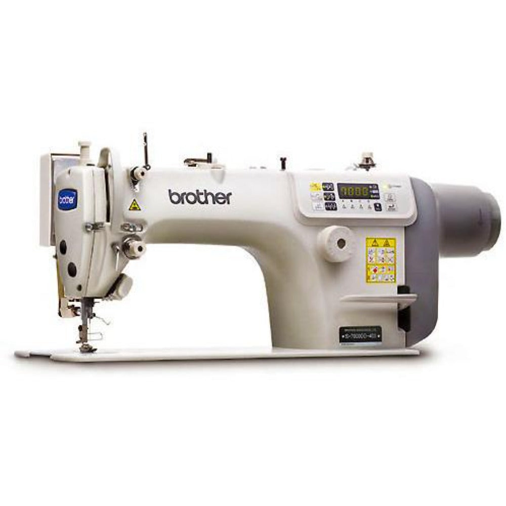 Brother S-7100A series; Professional Single Needle Lockstitch Machine with Auto thread trimmer.