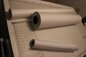 "Drafting Paper (Brown) Size L35"" x W46"" (Approx. 90cm x 116cm) x 5 Sheets"