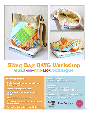 Sling Bag QAYG Workshop