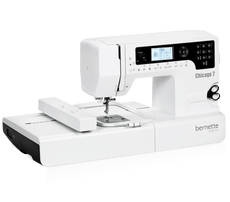 10% OFF One and Only ! Bernette Chicago 7 - Bernette Sewing & Embroidery Machine (Swiss Design)