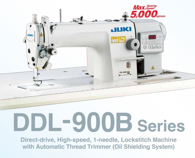 Juki DDL-900B / Lockstitch Machine with Automatic Thread Trimmer [TOP SELLER]