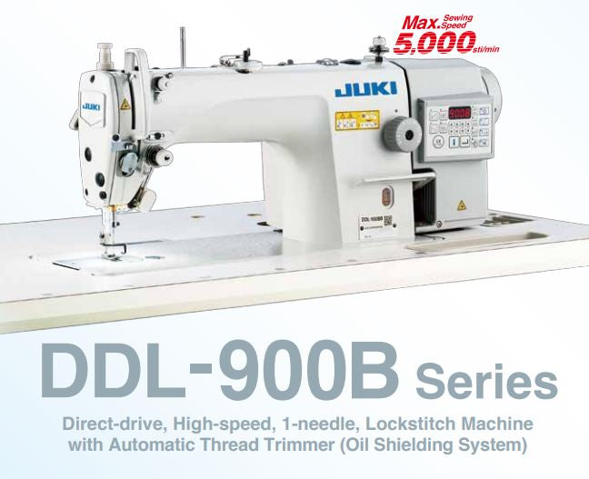 Juki DDL40B Lockstitch Machine With Automatic Thread Trimmer Beauteous How To Thread Juki Industrial Sewing Machine