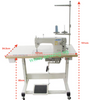 Juki DDL-8700H - Heavy Weight Industrial Lockstitch Machine - Industrial Lockstitch Machine | Sewing Machine Singapore - Sewing.sg