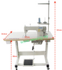 Juki DDL-8700 - Industrial Lockstitch Machine (Medium; Heavy stitching) - Industrial Lockstitch Machine | Sewing Machine Singapore - Sewing.sg