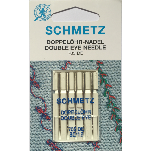 Schmetz Double-Eye Needles