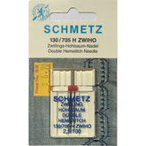 Schmetz Double Hemstitch Wing Needles