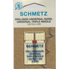Schmetz Drilling Triple Needles - Sewing Needles | Sewing Machine Singapore - Sewing.sg