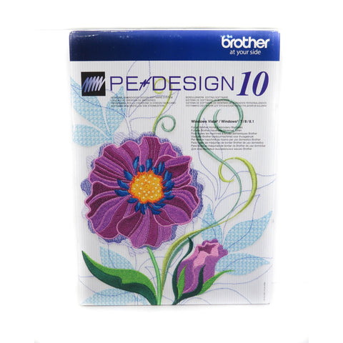 Brother PE Design 10 Software - Sewing Accessories | Singapore Sewing Machine - Sewing.sg