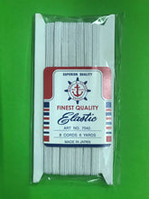 (Fast Selling) Elastic Band of various width, thickness . Made in Japan
