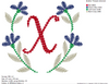 Alphabet Embroidery Design & Digitizing