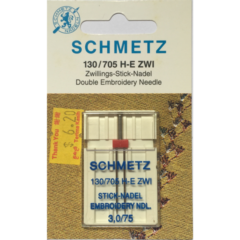Embroidery Twin Needles - Sewing Accessories | Sewing Machine Singapore - Sewing.sg - 2
