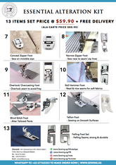 Essential Alteration Kit | Useful Alteration Accessories