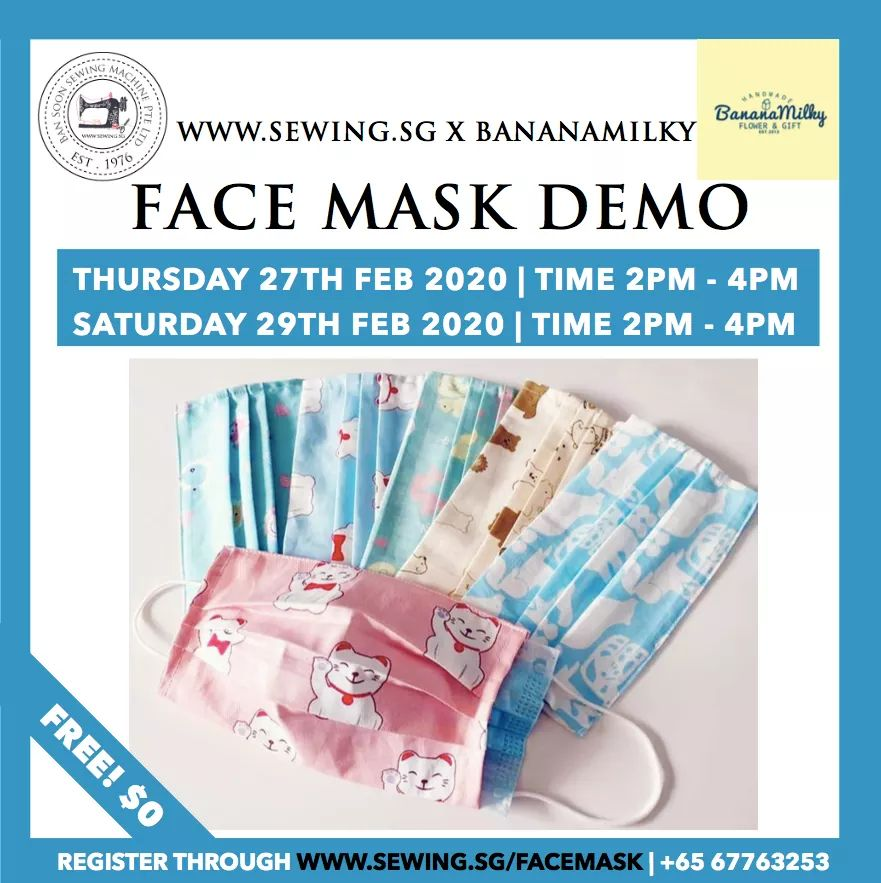 Demo on Sewing of Face Mask