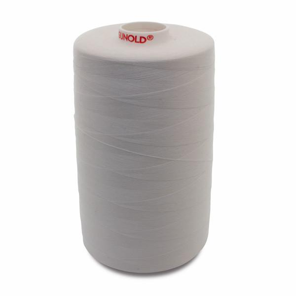 Gunold Embroidery Bobbin Threads - Bobby Syn 120 (Gunold Original) - 10,000 Meter (White)