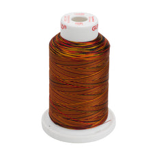 Gunold Multi Colour ( Rainbow ) Embroidery Thread Red / Yellow in a Cone - SULKY 40  - 2245