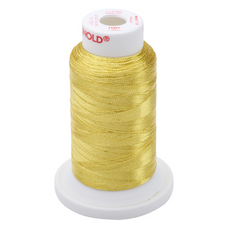 Gunold Sewing & Embroidery Threads - METY 5/2 - 7007 Gold Metallic Threads