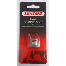 200345006 / 3-Way Cording Foot Janome Genuine