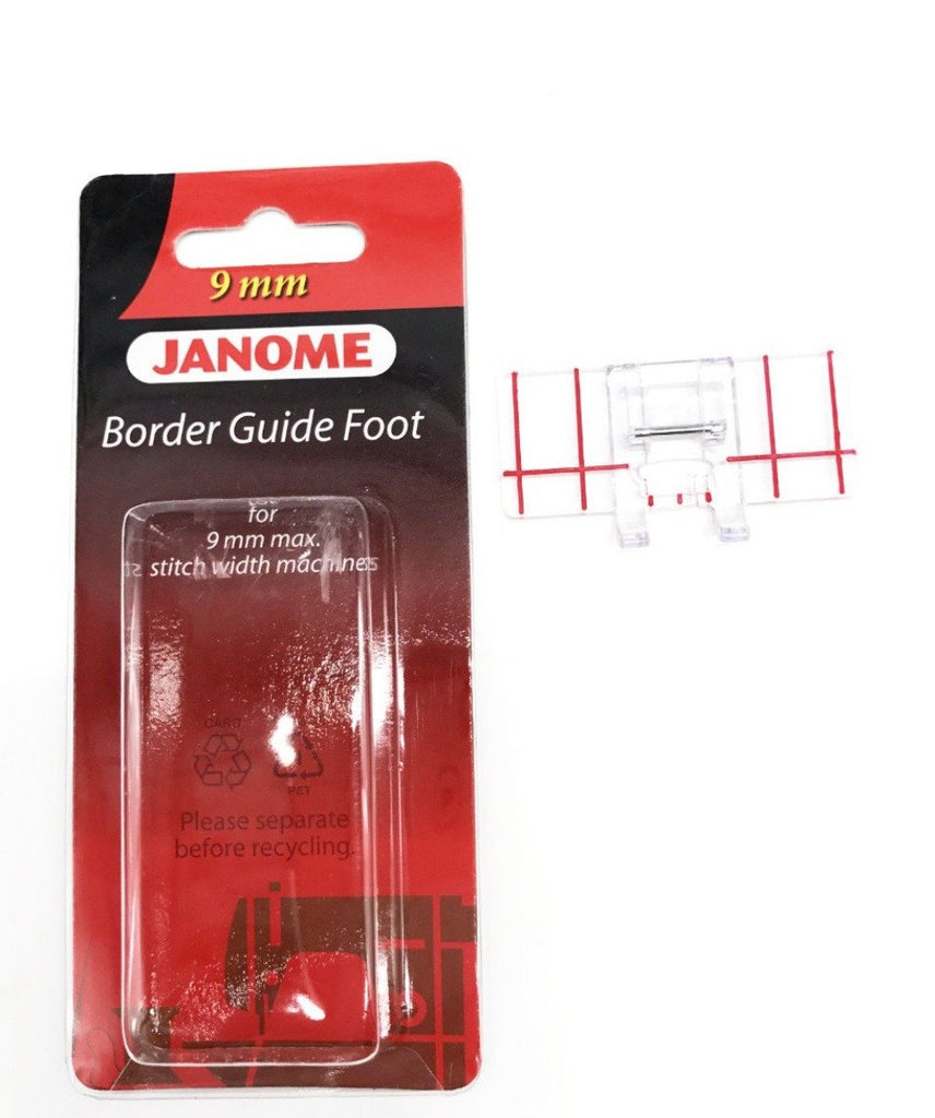 Border Guide Foot Janome 9mm FB