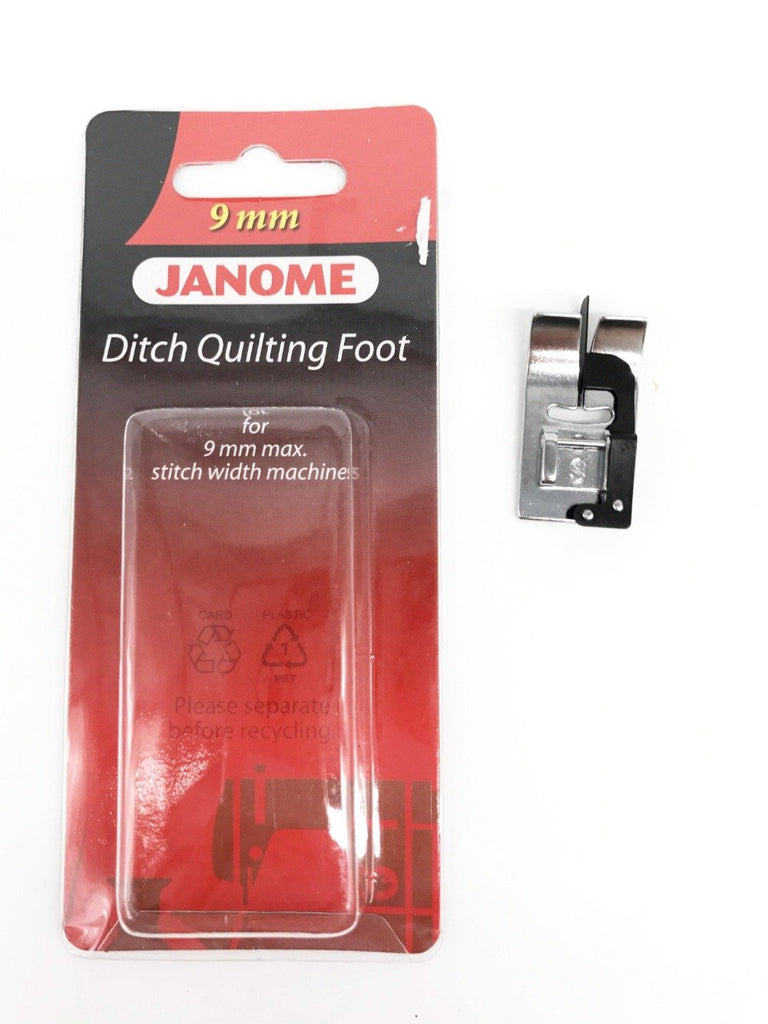 Janome Ditch Quilting Foot (S) - 9mm (Original)