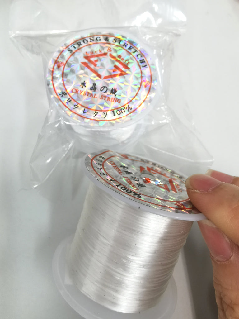 Strong Transparent Stretchy Threads Crystal String 500m