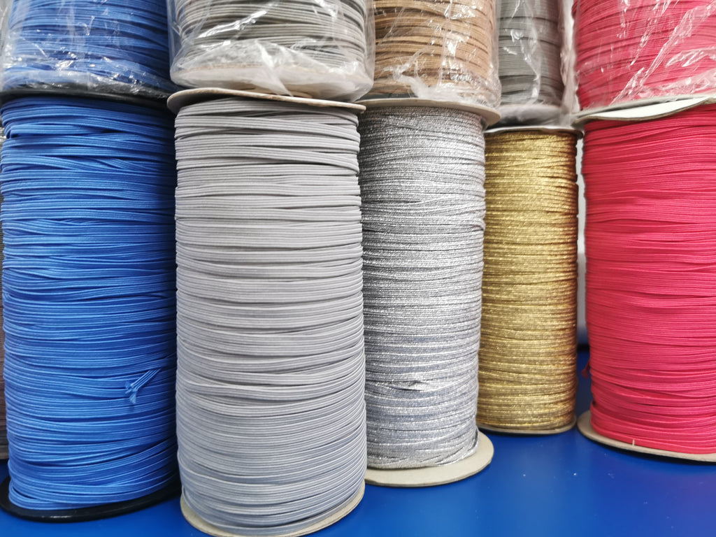 Soft Elastic Band Well Suited For Face Mask 3mm Wide 1mm