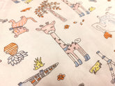 Collection 3 Cotton Fabric Printed 100% cotton, Medium weight, very comfortable on skin, good for Face Mask or as Inner,  1m packing.