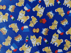 Collection 6 Cotton Fabric Printed 100% cotton, Medium weight, very comfortable on skin, good for Face Mask or as Inner,  1m packing.