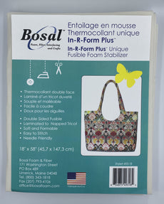 Bosal 493-18 In-R- Form Double Sided Fusible Stabilizer 58 inch x 18 inch