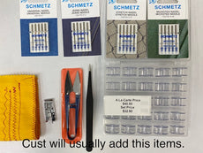 Essential Sewing Kit for Basic Sewing Machine | Useful Sewing Accessory Kit for Beginners, or user with a Basic($200+/-) sewing machine.