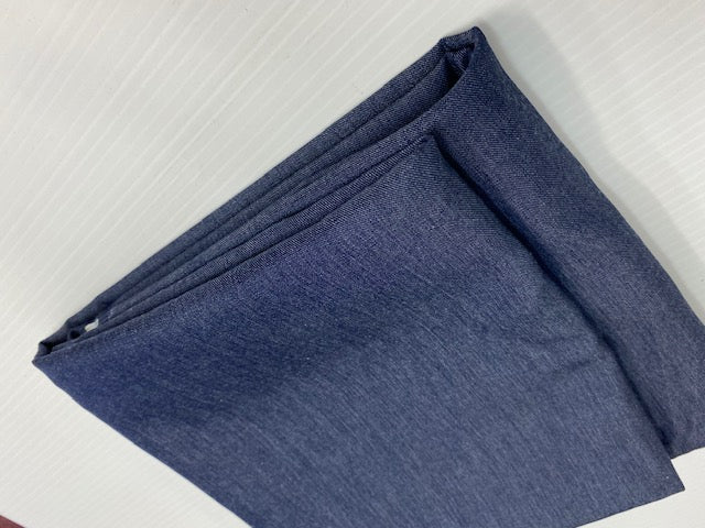 Denim Fabric 100% Cotton, Medium weight, soft and very comfortable feel. 1 yard packing [ Left with 2 Yards]