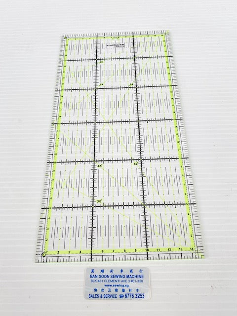 Ruler Rectangular Quilting Ruler Crafting Ruler. KEARING