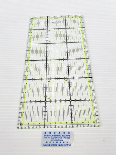 Quilting Ruler & Cutting Ruler | Basic & Professional Usage. KPR3015