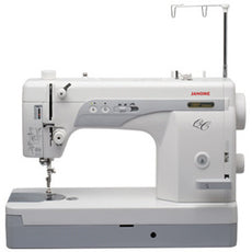 Janome 1600PQC - Portable High Speed, Straight Stitch, Sleek & Powerful Sewing Machine [Designers' Choice]