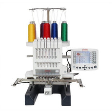 Janome MB7 Seven-Needle Embroidery Machine (Made in Japan) + 6 months FREEFLOW Gunold Embroidery Thread Package