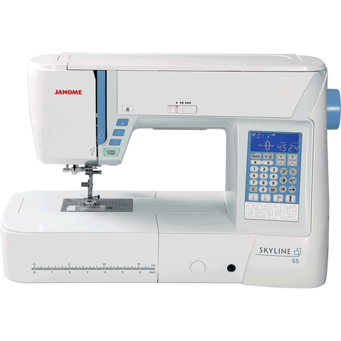 Janome Skyline S5 - High-end Sewing Machine