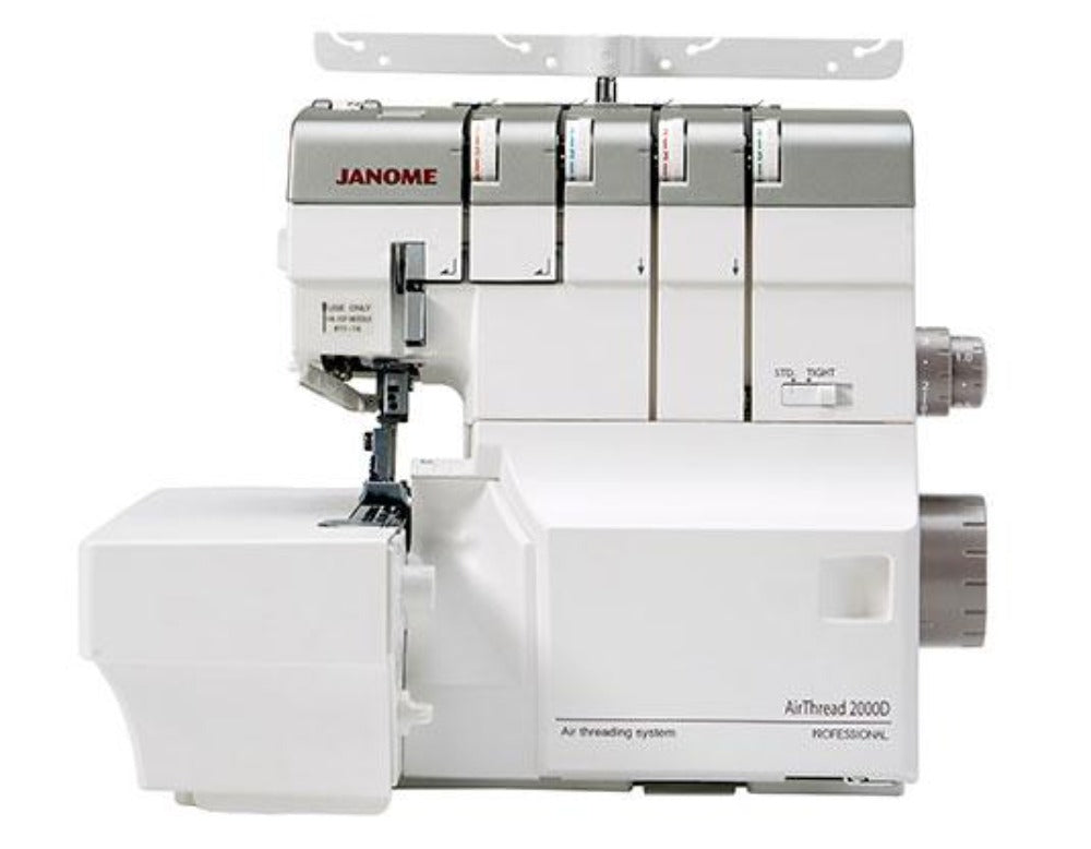 Janome AirThread 2000D (Auto Threading) Coverstitch Machine NEW!