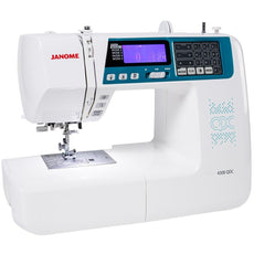 Janome Sewing Machine 4300 QDC Multi Purpose Computerised Sewing Machine + Wide Table + Full Quilting Accessories. Sold Out.
