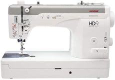 Janome HD9 - Professional Heavy Duty Straight Stitch Sewing Machine [Designers' Choice] - Built to deliver beautiful stitches, with thick or thin threads + 2 Years Warranty