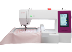 Janome MC450E  Memory Craft Embroidery Machine + Free Embroidery Threads