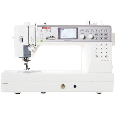 Janome MC6700P - Professional Sewing Machine with Semi-Industrial Features