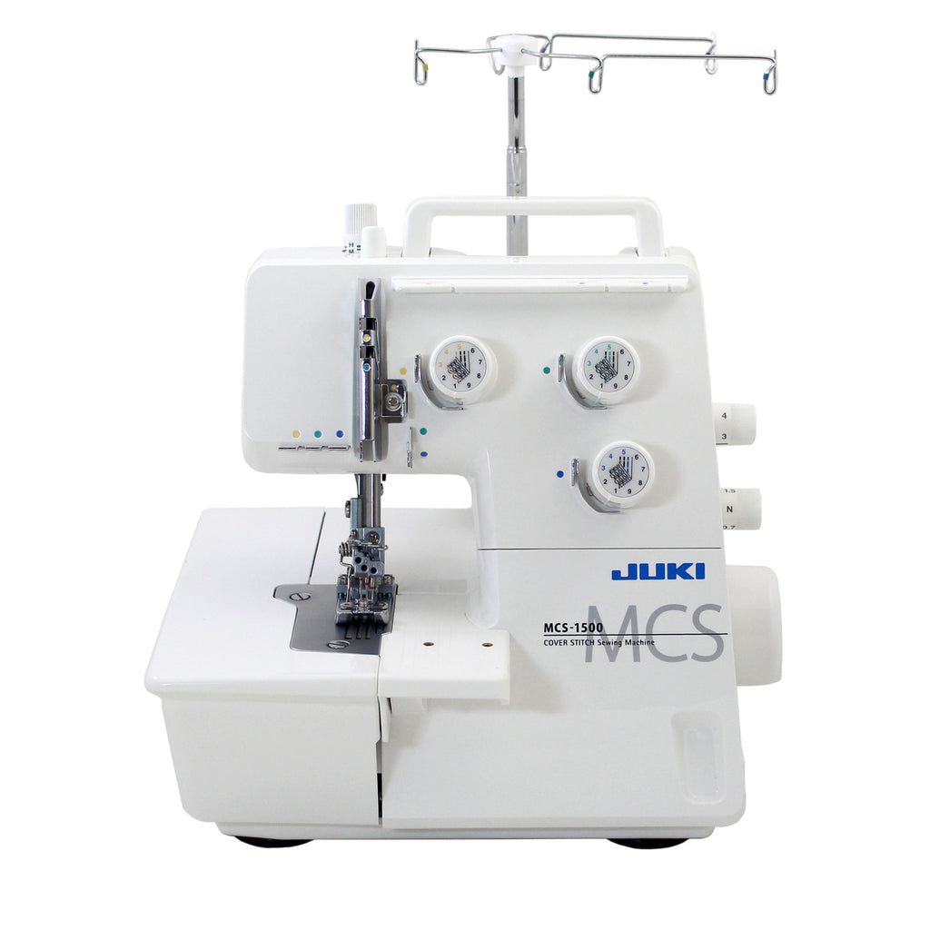 Juki MCS-1500 Cover Stitch Machine - Professional Coverstitch Machine (2/3/4-threads Coverstitch & Chainstitch) [Consult Staff]