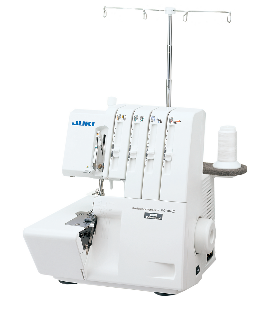 Juki MO104D - 2-Needles 3/4-thread Overlock Machine (Easy to Use)
