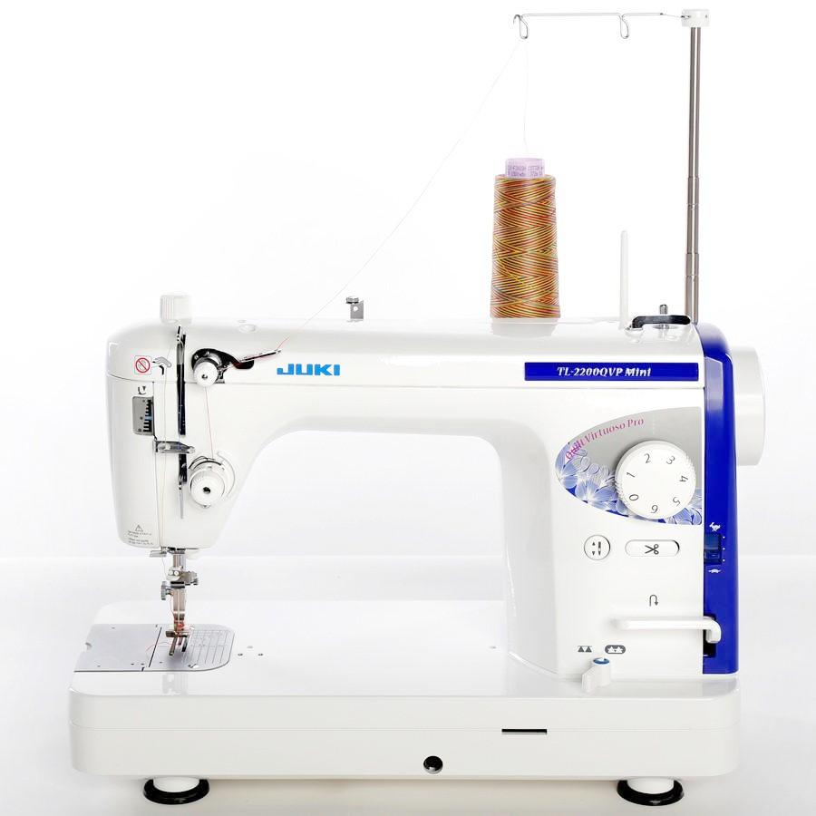 Portable Sewing Machine Juki TL 2200 QVP | Use widely by Fashion Designers, Semi-pros. Mini Quilting Machine