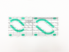 Rope Ruler (M) - Quilting Ruler (DS-KF-SS14) - Size : 250.8 x 101.6 mm - Sewing Accessories | Sewing Machine Singapore - Sewing.sg
