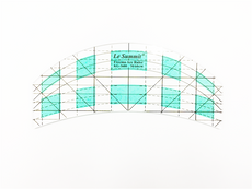 Le Summit Arc Ruler (S) - Quilting Ruler (DS-KG-3600) - 30-60cm