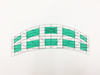 Le Summit Arc Ruler (M) - Quilting Ruler (DS-KG-4700) - 40-70cm - Sewing Accessories | Sewing Machine Singapore - Sewing.sg