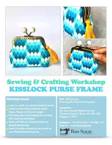 Kisslock Purse Frame Workshop