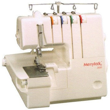 Merrylock 2020 : 2-Needles 3/4-Thread Serger Machine