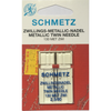 Schmetz Metallic Twin Needles - Sewing Needles | Sewing Machine Singapore - Sewing.sg