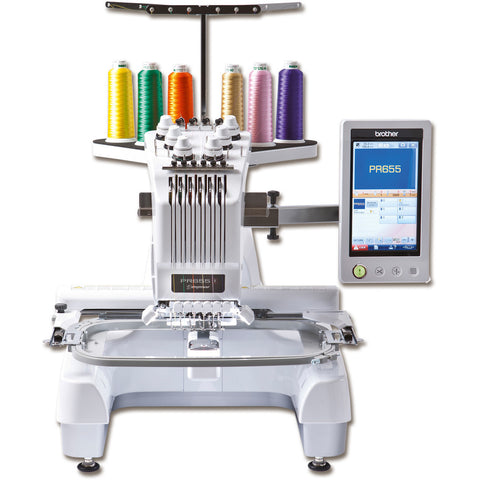 Brother PR-655 - Ban Soon Sewing Machine - Sewing.sg